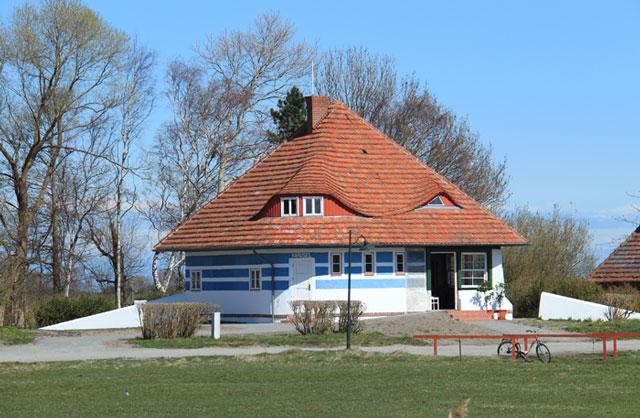 Das Asta-Nielsen-Haus auf der Insel Hiddensee